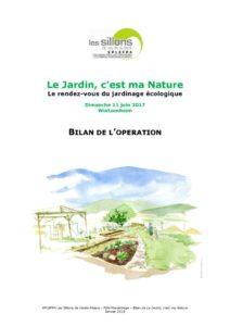 thumbnail of Le Jardin, c'est ma Nature – 2017 – bilan